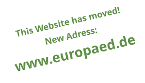This Website has moved! New Adress: www.europaed.de